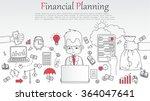 doodle line design of web...   Shutterstock .eps vector #364047641