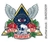 Vector Tattoo Art On The Theme...
