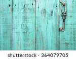 Bronze Skeleton Key Hanging By...