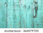 Bronze Skeleton Key Hanging By...