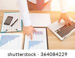 business people working in the... | Shutterstock . vector #364084229