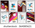 abstract vector backgrounds and ... | Shutterstock .eps vector #364085621