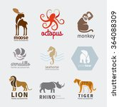 Animals Vector Logos  Emblems...