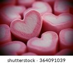 Pink Heart Shape From...