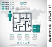 business management  strategy... | Shutterstock .eps vector #364108469