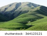 Green Hills At Kazakhstan