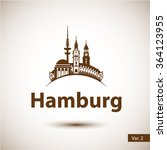 Hamburg Germany. City Skyline...