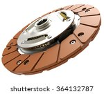 car clutch plate isolated on a... | Shutterstock . vector #364132787