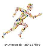illustration of abstract... | Shutterstock .eps vector #364137599
