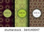 vector packaging design... | Shutterstock .eps vector #364140047