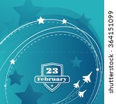 template postcards for february ... | Shutterstock .eps vector #364151099