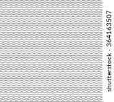 black seamless wavy line pattern | Shutterstock .eps vector #364163507