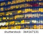 business office building in... | Shutterstock . vector #364167131