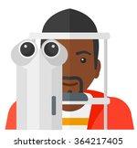 patient visiting...   Shutterstock .eps vector #364217405