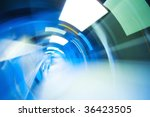 abstract tunnel background | Shutterstock . vector #36423505