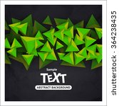 abstract vector background with ... | Shutterstock .eps vector #364238435