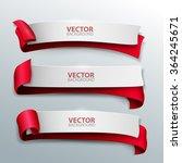 vector banners set. | Shutterstock .eps vector #364245671