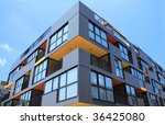 building angle and windows | Shutterstock . vector #36425080