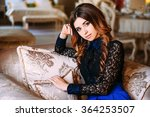 images of beautiful glamorous... | Shutterstock . vector #364253507