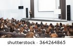 speaker at business convention... | Shutterstock . vector #364264865