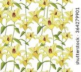 floral seamless pattern. flower ...   Shutterstock .eps vector #364279901