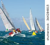 sailing yachts. yachting.... | Shutterstock . vector #364284815