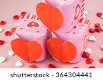 close up of heart shaped... | Shutterstock . vector #364304441