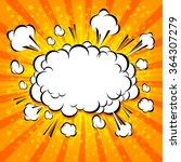 comic speech bubble  cartoon | Shutterstock .eps vector #364307279