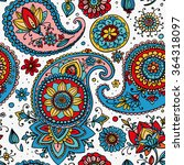 seamless pattern based on... | Shutterstock . vector #364318097