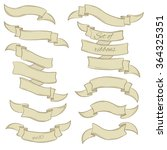 set of hand drawn vector... | Shutterstock .eps vector #364325351