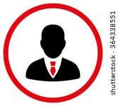 manager vector icon. style is...   Shutterstock .eps vector #364338551