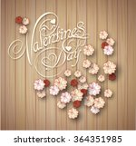 valentine's day background.... | Shutterstock .eps vector #364351985