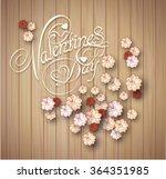 valentine's day background.... | Shutterstock .eps vector #364351985