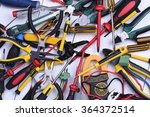 tools to use in electrical...   Shutterstock . vector #364372514