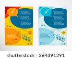 syringe icon on chat speech... | Shutterstock .eps vector #364391291