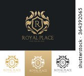 royal place luxury logo template | Shutterstock .eps vector #364392065