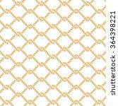 marine rope knot seamless... | Shutterstock .eps vector #364398221