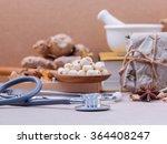 alternative health care lotus... | Shutterstock . vector #364408247