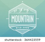 logo badge for creative design... | Shutterstock .eps vector #364423559