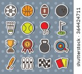sport icon vector | Shutterstock .eps vector #364424711