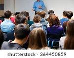 education process at professor...   Shutterstock . vector #364450859
