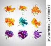 logo set. vector. abstract spa...   Shutterstock .eps vector #364458959