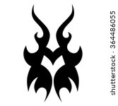 tattoo tribal vector design.... | Shutterstock .eps vector #364486055