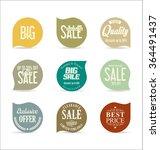 modern badges collection | Shutterstock .eps vector #364491437