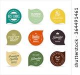 modern badges collection | Shutterstock .eps vector #364491461