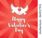 happy valentine's day vector...   Shutterstock .eps vector #364517531