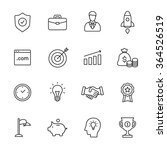business line icons | Shutterstock .eps vector #364526519