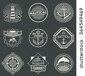 Assorted Nautical Logotypes Se...