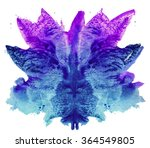 abstract hand painted... | Shutterstock . vector #364549805