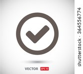 check  icon. one of set web... | Shutterstock .eps vector #364556774